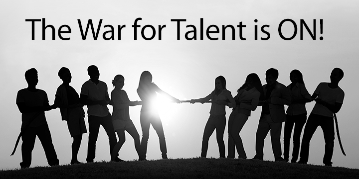 The War for Talent is ON!