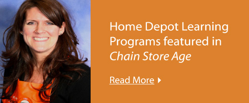 Home Depot Learning Programs featured in Chain Store Age