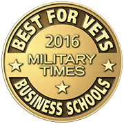 Military Times Best for Vets Award: Business Schools